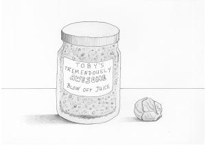 Jar of Blow Off Juice